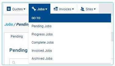 DBs Simpro jobs